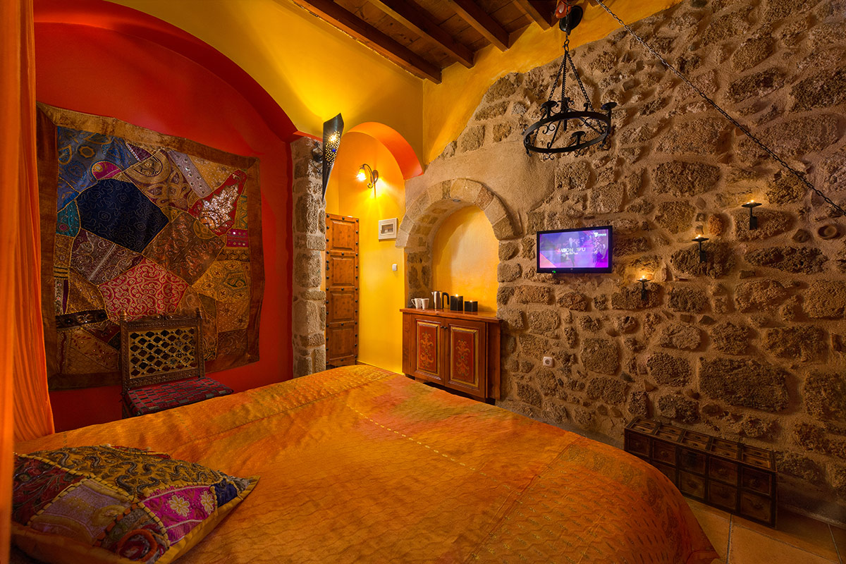 Nikos Takis Hotel - Deluxe Double Room Medieval